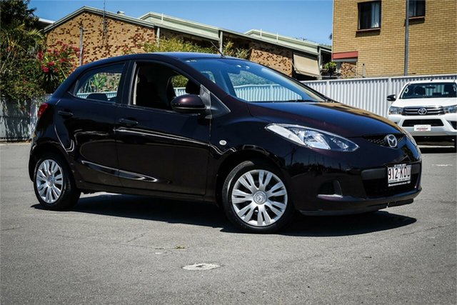 Used Mazda 2 DE10Y1 Neo Moorooka, 2008 Mazda 2 DE10Y1 Neo Black 5 Speed Manual Hatchback
