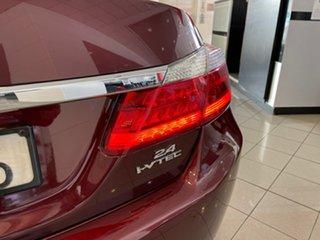 2014 Honda Accord 9th Gen MY13 VTi Red 5 Speed Sports Automatic Sedan