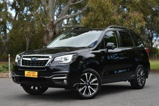 2018 Subaru Forester S4 MY18 2.5i-S CVT AWD Black 6 Speed Constant Variable Wagon
