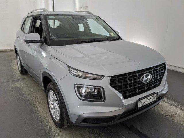 Used Hyundai Venue QX MY20 Active Maryville, 2019 Hyundai Venue QX MY20 Active Silver 6 Speed Automatic Wagon