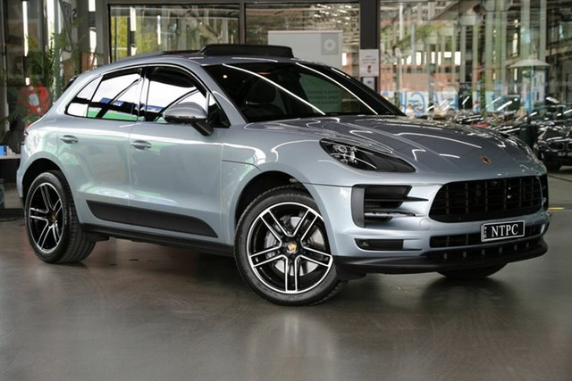 Used Porsche Macan 95B MY20 S PDK AWD North Melbourne, 2020 Porsche Macan 95B MY20 S PDK AWD Silver 7 Speed Sports Automatic Dual Clutch Wagon