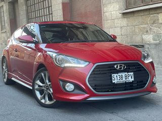 2016 Hyundai Veloster FS4 Series II SR Coupe Turbo Red 6 Speed Manual Hatchback.