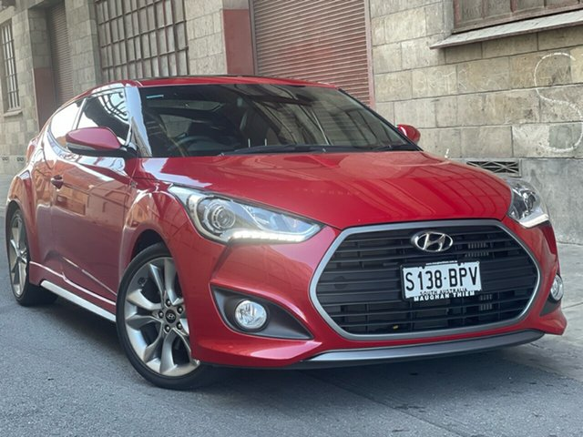 Used Hyundai Veloster FS4 Series II SR Coupe Turbo Cheltenham, 2016 Hyundai Veloster FS4 Series II SR Coupe Turbo Red 6 Speed Manual Hatchback