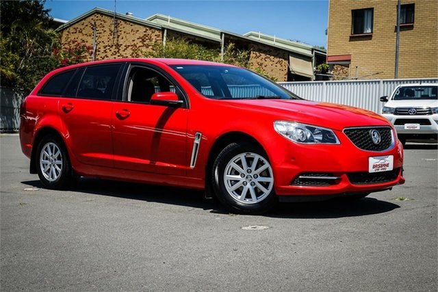 Used Holden Commodore VF II MY17 Evoke Sportwagon Moorooka, 2017 Holden Commodore VF II MY17 Evoke Sportwagon Red 6 Speed Sports Automatic Wagon