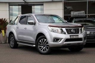 2015 Nissan Navara D23 ST 4x2 Silver, Chrome 7 Speed Sports Automatic Utility.
