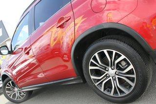 2017 Mitsubishi ASX XC MY17 LS 2WD Red Metallic 6 Speed Constant Variable Wagon