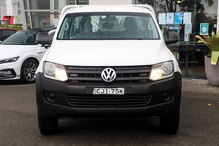 2012 Volkswagen Amarok 2H MY12 TSI300 4x2 White 6 Speed Manual Cab Chassis