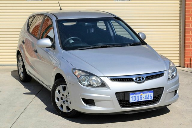 Used Hyundai i30 FD MY11 SX Mount Lawley, 2011 Hyundai i30 FD MY11 SX Silver 4 Speed Automatic Hatchback