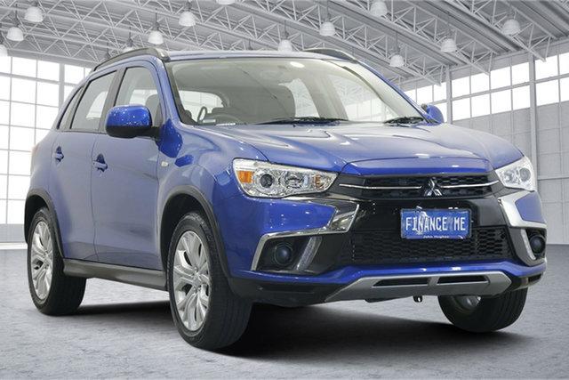 Used Mitsubishi ASX XC MY19 ES 2WD Victoria Park, 2019 Mitsubishi ASX XC MY19 ES 2WD Blue 1 Speed Constant Variable Wagon