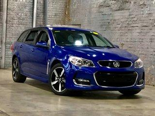 2017 Holden Commodore VF II MY17 SV6 Sportwagon Blue 6 Speed Sports Automatic Wagon.