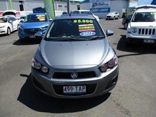 2012 Holden Barina CD Grey 5 Speed Manual Hatchback.