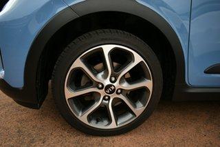 2019 Kia Picanto JA MY19 X-Line Blue 4 Speed Automatic Hatchback.