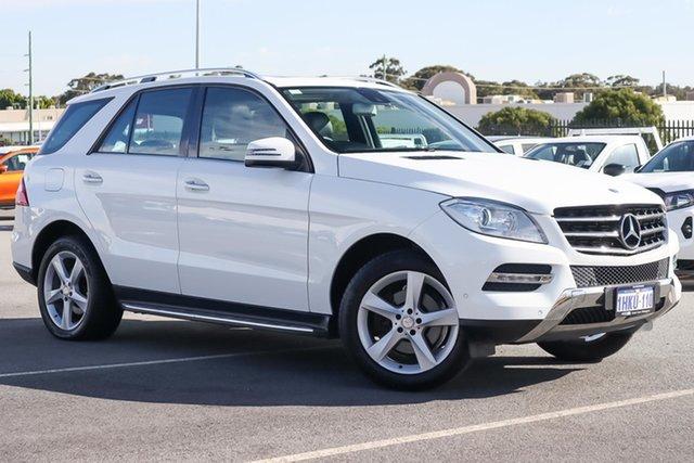 Used Mercedes-Benz M-Class W166 ML250 BlueTEC 7G-Tronic + Wangara, 2014 Mercedes-Benz M-Class W166 ML250 BlueTEC 7G-Tronic + White 7 Speed Sports Automatic Wagon