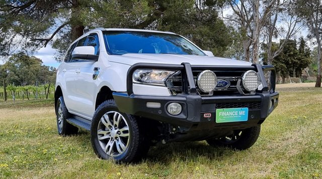 Used Ford Everest UA 2018.00MY Trend Nuriootpa, 2018 Ford Everest UA 2018.00MY Trend White 6 Speed Sports Automatic SUV