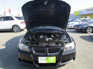 2008 BMW 3 Series E90 MY09 325i Steptronic Black 6 Speed Sports Automatic Sedan