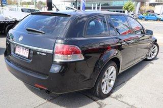2011 Holden Commodore VE II MY12 Equipe Sportwagon Black 6 Speed Sports Automatic Wagon.
