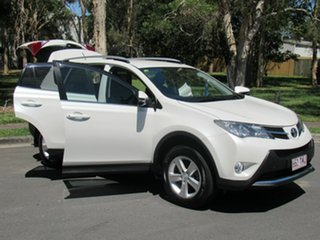 2013 Toyota RAV4 ZSA42R GXL 2WD White 7 Speed Constant Variable Wagon