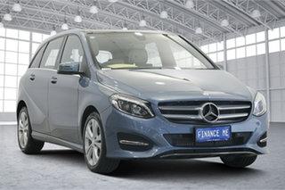 2015 Mercedes-Benz B-Class W246 B200 DCT Blue 7 Speed Sports Automatic Dual Clutch Hatchback.