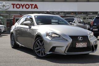 2016 Lexus IS AVE30R IS300h F Sport Grey 1 Speed Constant Variable Sedan Hybrid.