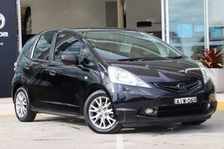 2010 Honda Jazz GE MY10 VTi Black 5 Speed Manual Hatchback.