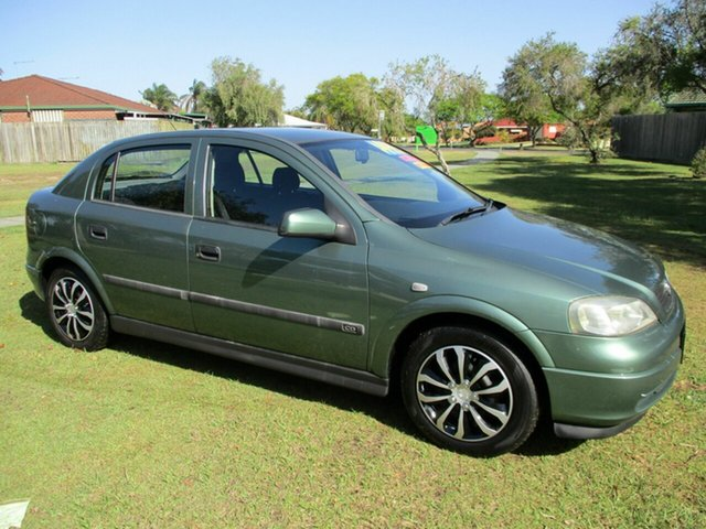 Used Holden Astra TS CD Kippa-Ring, 1998 Holden Astra TS CD Green 4 Speed Automatic Hatchback