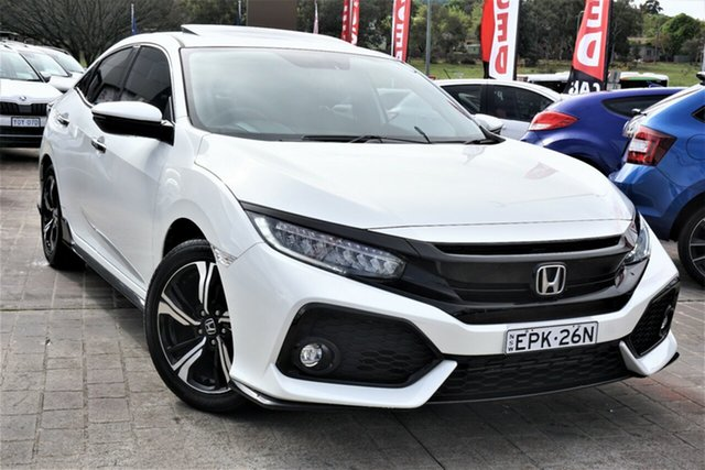 Used Honda Civic 10th Gen MY17 RS Phillip, 2017 Honda Civic 10th Gen MY17 RS White 1 Speed Constant Variable Hatchback