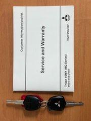 2016 Mitsubishi Triton MQ MY16 GLX+ Double Cab Grey 6 Speed Manual Utility