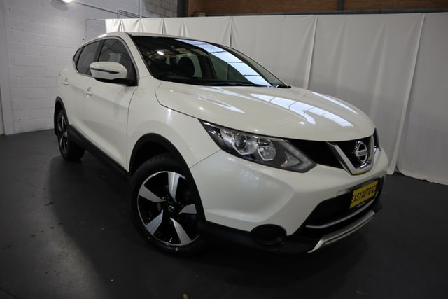 Used Nissan Qashqai J11 N-Sport Castle Hill, 2017 Nissan Qashqai J11 N-Sport White 1 Speed Constant Variable Wagon