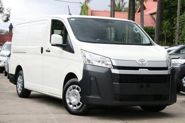 Pre-Owned Toyota HiAce GDH300R LWB Mosman, 2019 Toyota HiAce GDH300R LWB French Vanilla 6 Speed Automatic Van