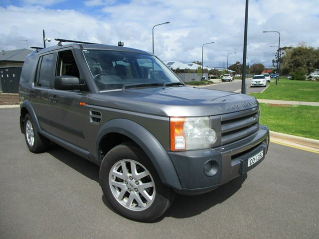 Used Land Rover Discovery 3 MY06 Upgrade SE Glenelg, 2007 Land Rover Discovery 3 MY06 Upgrade SE Grey 6 Speed Automatic Wagon