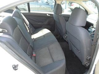 2008 Ford Falcon White Automatic Sedan