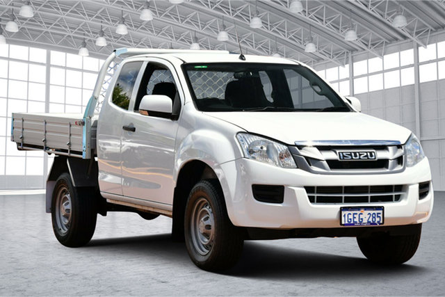Used Isuzu D-MAX MY15.5 SX Space Cab 4x2 High Ride Victoria Park, 2016 Isuzu D-MAX MY15.5 SX Space Cab 4x2 High Ride White 5 Speed Sports Automatic Utility
