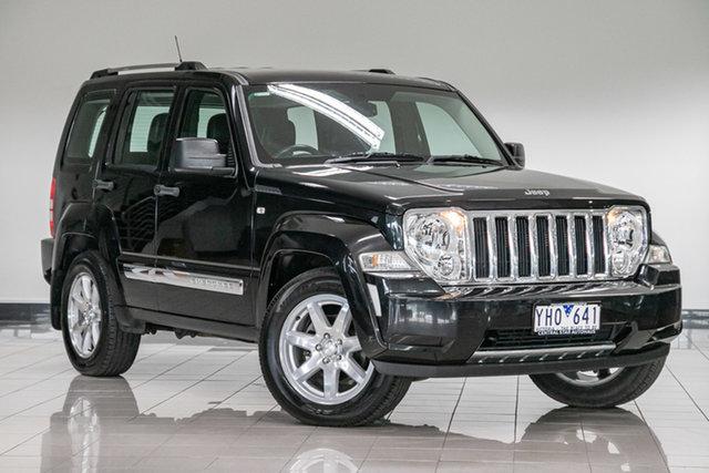 Used Jeep Cherokee KK MY11 Limited , 2011 Jeep Cherokee KK MY11 Limited Black 4 Speed Automatic Wagon