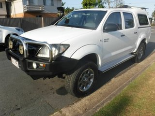 2007 Toyota Hilux SR White 5 Speed Automatic Dual Cab