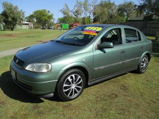 1998 Holden Astra TS CD Green 4 Speed Automatic Hatchback