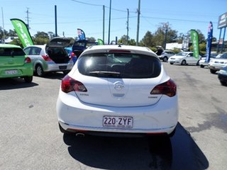 2012 Opel Astra Sport White Manual Hatchback.