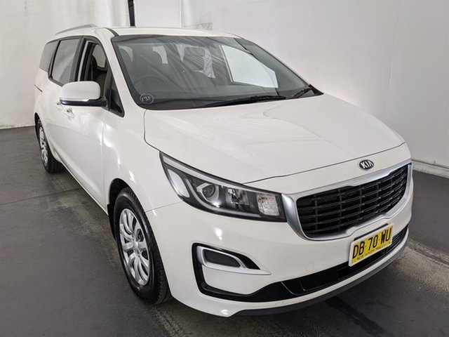 Used Kia Carnival YP MY18 S Maryville, 2018 Kia Carnival YP MY18 S White 6 Speed Sports Automatic Wagon