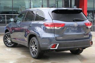 2018 Toyota Kluger GSU55R Grande AWD Blue 8 Speed Sports Automatic Wagon.