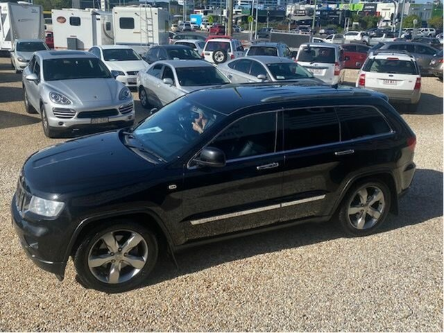 Used Jeep Grand Cherokee WK MY12 Limited (4x4) Arundel, 2012 Jeep Grand Cherokee WK MY12 Limited (4x4) Black 5 Speed Automatic Wagon