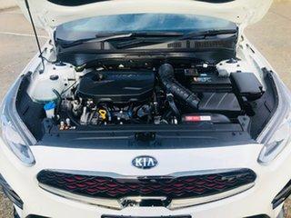 2019 Kia Cerato BD MY20 GT DCT White 7 Speed Sports Automatic Dual Clutch Sedan