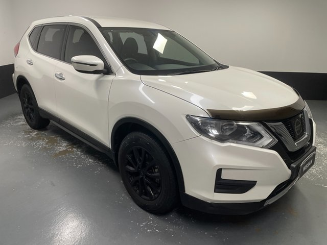 Used Nissan X-Trail T32 Series II ST X-tronic 4WD Hamilton, 2018 Nissan X-Trail T32 Series II ST X-tronic 4WD White 7 Speed Constant Variable Wagon
