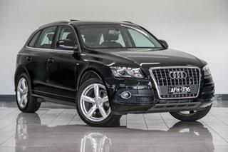 2011 Audi Q5 8R MY11 TFSI S Tronic Quattro Black 7 Speed Sports Automatic Dual Clutch Wagon.