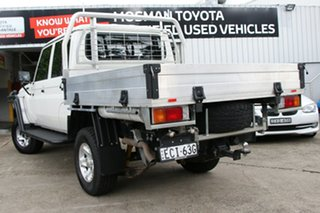 2019 Toyota Landcruiser VDJ79R GXL Double Cab French Vanilla 5 Speed Manual Dual Cab Chassis.