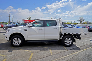 2021 Ford Ranger PX MkIII 2021.75MY XLT Double Cab White 10 Speed Sports Automatic