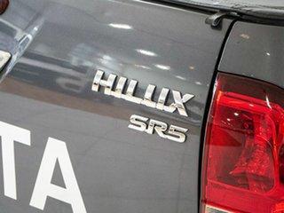 2018 Toyota Hilux GUN126R SR5 Double Cab Grey 6 Speed Manual Utility