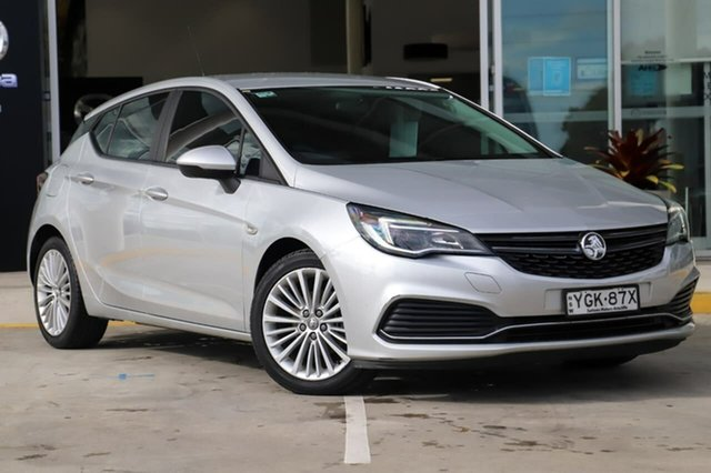 Used Holden Astra BK MY17 R Kirrawee, 2016 Holden Astra BK MY17 R Silver 6 Speed Sports Automatic Hatchback