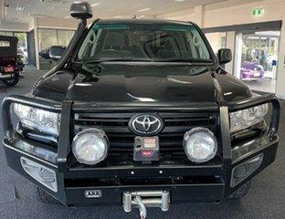 2017 Toyota Landcruiser VDJ200R GX Black 6 Speed Sports Automatic Wagon