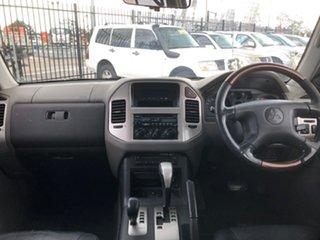 2004 Mitsubishi Pajero NP GLS LWB (4x4) Black 5 Speed Auto Sports Mode Wagon