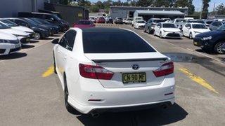 2015 Toyota Aurion GSV50R Sportivo White 6 Speed Sports Automatic Sedan.
