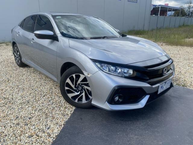 Used Honda Civic MY17 VTi-S Wangaratta, 2018 Honda Civic MY17 VTi-S Continuous Variable Hatchback